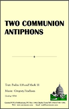 Two Communion Antiphons