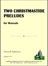Two Christmastide Preludes for Manuals