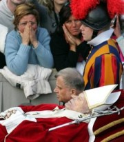 Transferal of the Body of Pope John Paul II