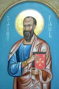 Modern Icon of Saint Paul